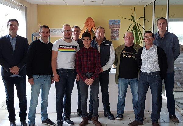 Equipe de Roger Couverture - Couvreur Arras